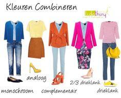 Hoe kies je nu de kleuren voor je garderobecapsule? Gebruik de kleurencirkel! Lees dit interessante blog om te weten te komen hoe je kleurencombi's voor jouw #kleurtype maakt. #kleurencombinaties |www.lidathiry.nl|
