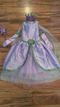 Princess Presto Inspired Gown w/ all accesories by RayneBelles on Etsy