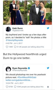 Ryan Reynolds is the perfect man 💜 Ryan Reynolds is the perfect man 💜 Funny Quotes, Funny Memes, Hilarious, Jokes, Funny Tweets, Ryan Reynolds Tweets, Just For Laughs, Perfect Man, Tumblr Funny