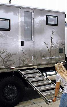 Click image for larger version Name: Views: 273 Size: KB ID: 298054 Camper Steps, Diy Camper, Truck Camper, Truck Tent, Overland Truck, Expedition Vehicle, Best Trailers, Camper Trailers, Motorhome
