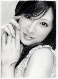 "llustration of the ""Kitagawa Keiko pencil drawing"" / ""shtt4881"""