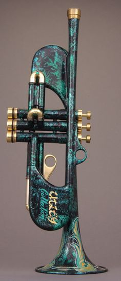 The Utley Collection Custom Shop trumpet (NMM 7316) by Andy Taylor, Norwich, 1998.