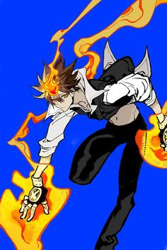 Tsunayoshi Sawada Reborn Katekyo Hitman, Hitman Reborn, Mafia, Digimon Digital Monsters, Body Drawing, Cute Anime Guys, Fanart, Kawaii Anime Girl, Character Illustration