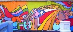 Cuadros Modernos: Imágenes de Murales Politicos Chilenos Street Art, Disney Characters, Painting, Murals, Diy Ideas, Makeup, World, Home, Modern Paintings