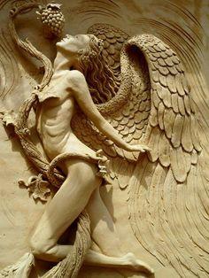 Talha escultura Júlio Leal