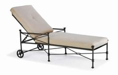 Winston Adjustable Ultra Chaise With Seat & Back Cushions