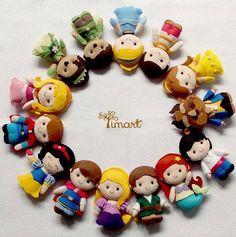 Apostila Princesas e Principes Pockets. Adquira a sua na loja oficial (clique em visitar ou acesse www.timart.com.br)