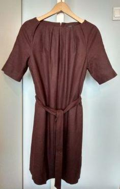 b998c5303f Sprzedam bordową sukienkę z dodatkiem wełny
