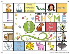 Rhyming Games & Worksheets - Have some fun while teaching phonemic awareness. These activities are CCSS aligned for Kindergarten.