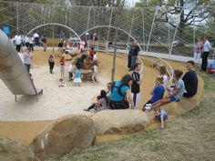 Field Operations - Woodland Discovery Playground at Shelby Farms Park