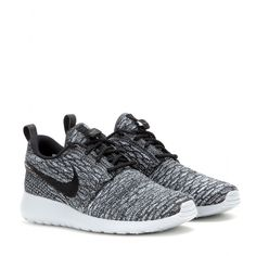 Nike - Nike Rosherun Flyknit sneakers - Whether you're running to the gym or just heading out to the city, the 'Rosherun Flyknit' sneakers will give an urban finish to any look. In this chic grey hue with the chunky grey-tinted sole, they're the perfect combination of comfort and style. Wear yours with denim or to dress down feminine skirts. seen @ www.mytheresa.com