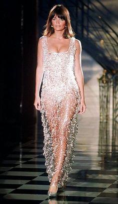 Atelier Versace Fall 1995 - Helena Christensen