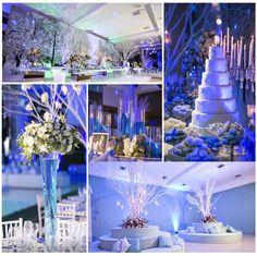 Decoração de Festa 15 Anos - Frozen
