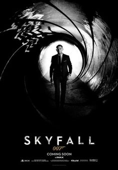Brand new poster for 007 movie Skyfall / Den of Geek/ can't wait!