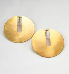 Earrings Discy In Gold
