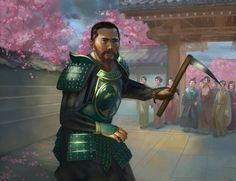 """Legend of the Five Rings General - - """"/tg/ - Traditional Games"""" is imageboard for discussing traditional gaming, such as board games and tabletop RPGs. D D Characters, Fantasy Characters, Fictional Characters, Fantasy Character Design, Character Inspiration, Character Ideas, Ghost Of Tsushima, L5r, Traditional Games"""