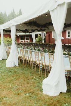Tented reception: http://www.stylemepretty.com/washington-weddings/2015/03/13/romantic-orchard-wedding-at-storybook-farm/ | Photography: Chantal Andrea - http://chantalandrea.com/