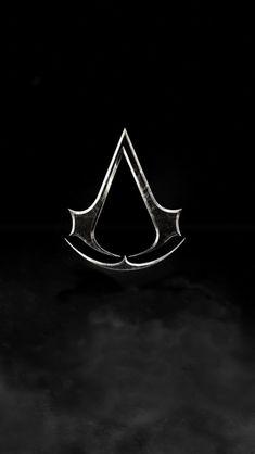 Assassins Creed Logo Dark iPhone 5 Wallpaper