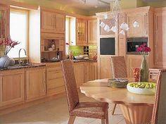 mueble de cocina estilo rustico madera                              …