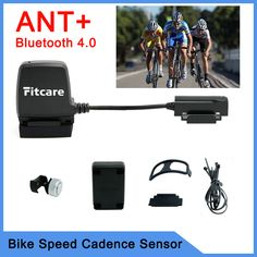 ANT+ Sensor Bike bicycle computer speedometer Speed Cadence Sensor Bluetooth LE Smart Fitness for Wahoo Fitness MapMyRide Bluetooth, Cardio, Survival Life, Ants, Fitness, Cycling, Bicycle, Alibaba Group, Entertainment