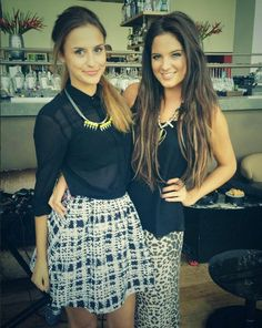 Lucy Watson looked a million dollars on her lunch date with MIC co-star Binky Felstead