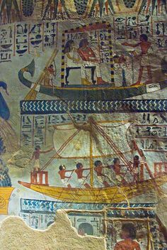 one of many beautiful tomb decorations amongst the Tombs of the Nobles on the West Bank of the River Nile at Luxor. Sennefer [Tomb 96] Jim Henderson