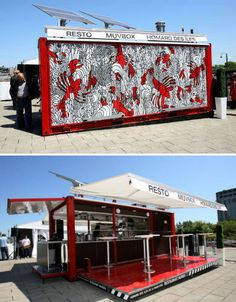 These mobile and temporary pop-up restaurants, cafes and bars won't stay in your area long enough for you to get bored with them, so enjoy them while you can.