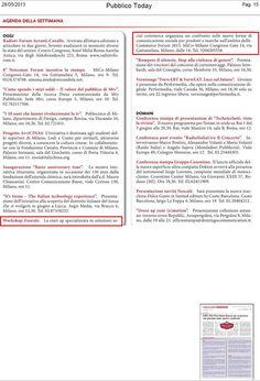 Pubblico Today - 28 maggio 2013