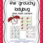 Practice time with the Grouchy Ladybug.  These time math centers are aligned with common core first grade standards: 1.MD.3. Tell and write time i...