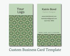 The harper quilt paper pattern paper patterns and patterns business card template calling cards by gmbusinesscard on etsy reheart Choice Image