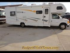 http://BudgetRvsOfTexas.com - 469-554-0440  When the open road is calling your name and the urge to just get away from it all becomes to strong to ignore you want to be able to just get up and go! Your RV dreams have just become a reality with this excellent 2008 low mile class c RV from Tioga. You have plenty of room for the whole family thanks ...