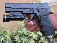 Sig P226 9mm 15+1 Navy Seal Model w/light