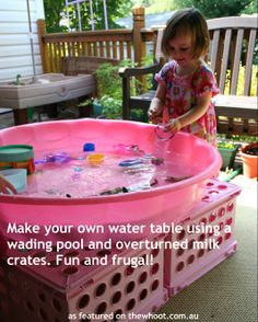 Save a fortune with this DIY water table!