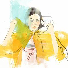 #illustration #drawing #24daysofchristmas #dayseven #instaart #sketch #ink #pen #snoww... | Use Instagram online! Websta is the Best Instagram Web Viewer!