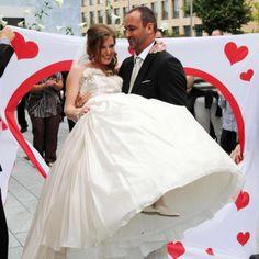 Hochzeitsspiel: Herz zum Ausschneiden