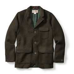 The Hacking Jacket - Tweed