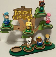 Premium Animal Crossing Amiibo Display by ForrestcraftCreation