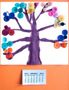 Rainbow Creations - Art and Craft for Children - Blog: Make Your Own Calendar - Kid's Craft Activity #christmascards #christmas #cards #eyfs