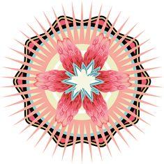 Symbol/ Mandala design Mandala Design, Behance, Symbols, Behavior, Icons