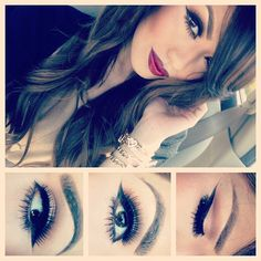 #beauty #makeup #lips #eyes #hairstyle #hair