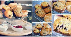 Une belle recette de muffins prise chez DoumDoum . Bleuets et bananes, un duo que je sous-estimais car c'esttout à fait délicieux !!!... Bagels, Muffins, Breakfast, Desserts, Food, 2013, Cupcakes, Chipotle Chili, Couscous Salad