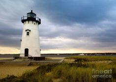 Edgartown Lighthouse Cape Cod Photograph