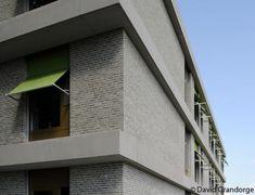 Woon- en zorgcentrum in Huise-Zingem (België), een realisatie van Sergison Bates Architects