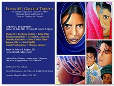 Mi próxima exposición en New York City ...  Hoy es la inauguración .... estáis invitados !   My next exhibition in New York City ... Today is the opening .... you are invited !