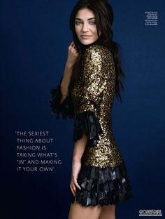 "foreverinhautecouture: ""ASOS Magazine November issue Jessica Szohr by John Lindquist "" Jessica Szohr, Forever21, Mode Glamour, Gossip Girl Fashion, Gossip Girls, Fashion Moda, Emo Fashion, Gothic Fashion, Glitz And Glam"