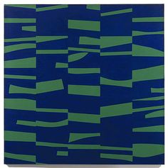 Ellsworth Kelly, The Meschers, 1951, oil on canvas, 59 x 59 inches, Museum of Modern Art, New York