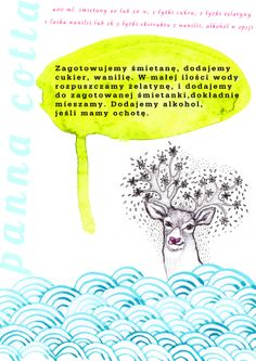 """illustrated recipe"" illustration, 2011, http://www.elizadanowska.pl/"