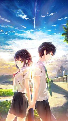 #anime #animes #animefanart #fanart #kiminonawa kimi no na wa