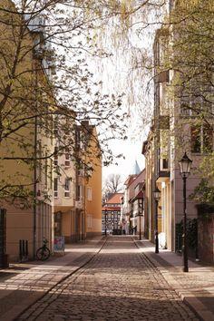 ღღ Berlin, Germany - The street of Spandau (Old Town) by Anna Larkina on Oh The Places You'll Go, Places To Travel, Places To Visit, Travel Destinations, Wonderful Places, Beautiful Places, Berlin Germany, Berlin Berlin, Germany Travel