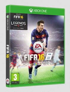 Messi repeats solo on the cover of FIFA 16 for Spain